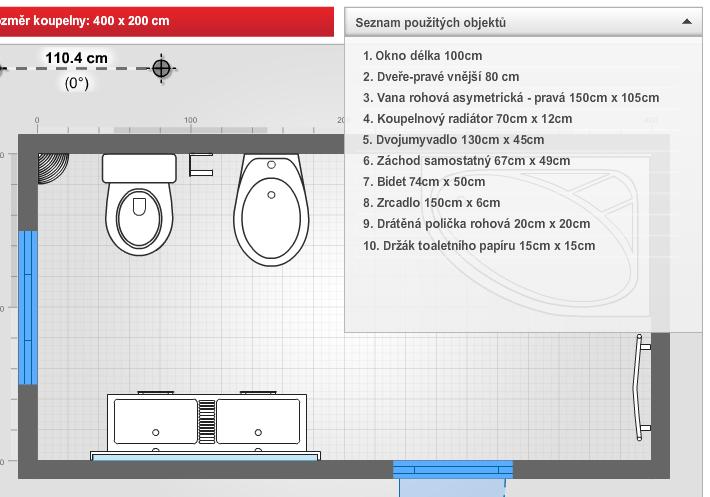 Návrh koupelny - Obrázek 2
