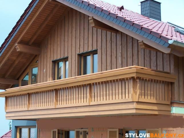 Samonosný balkon alpský