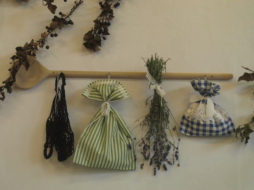 Dekorace ze sušených bylinek
