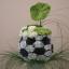Aranžujeme originální fotbalovou a jedlou kytici pro muže