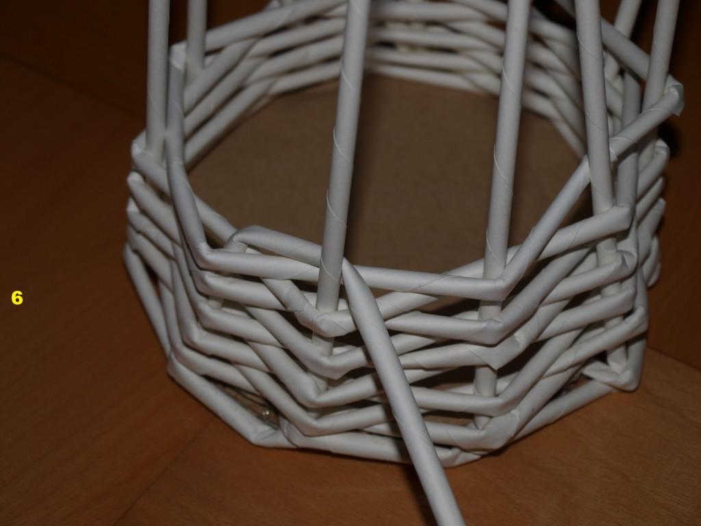 Pletení z papíru č. 6