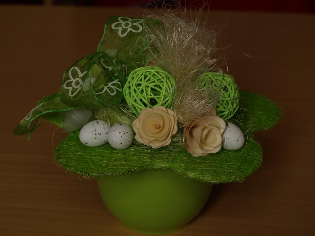 Velikonoční aranžmá zelené