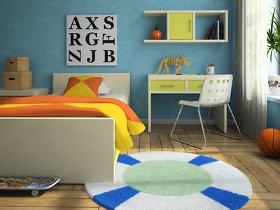 Moderní interiér dětského pokoje