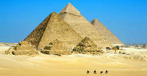 Egypt pyramidy nhled