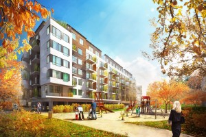 Vizualizace projektu Prosek Park