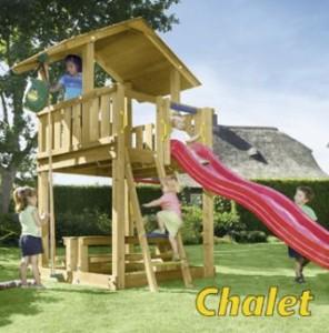 Dětské hřiště junglegym Chalet