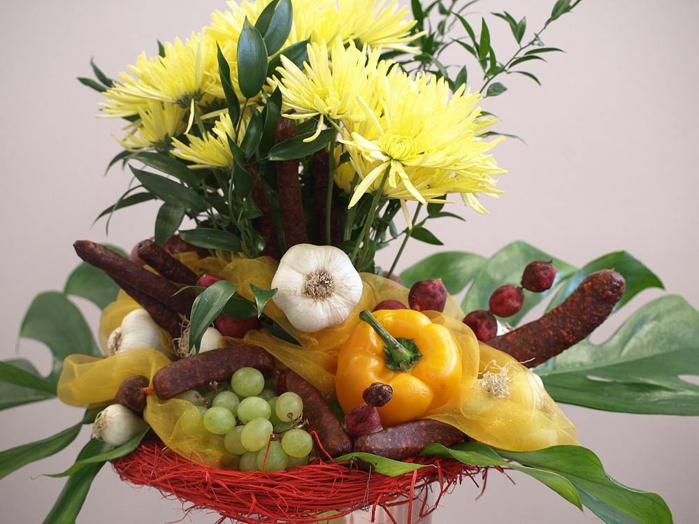 Jedlá kytice
