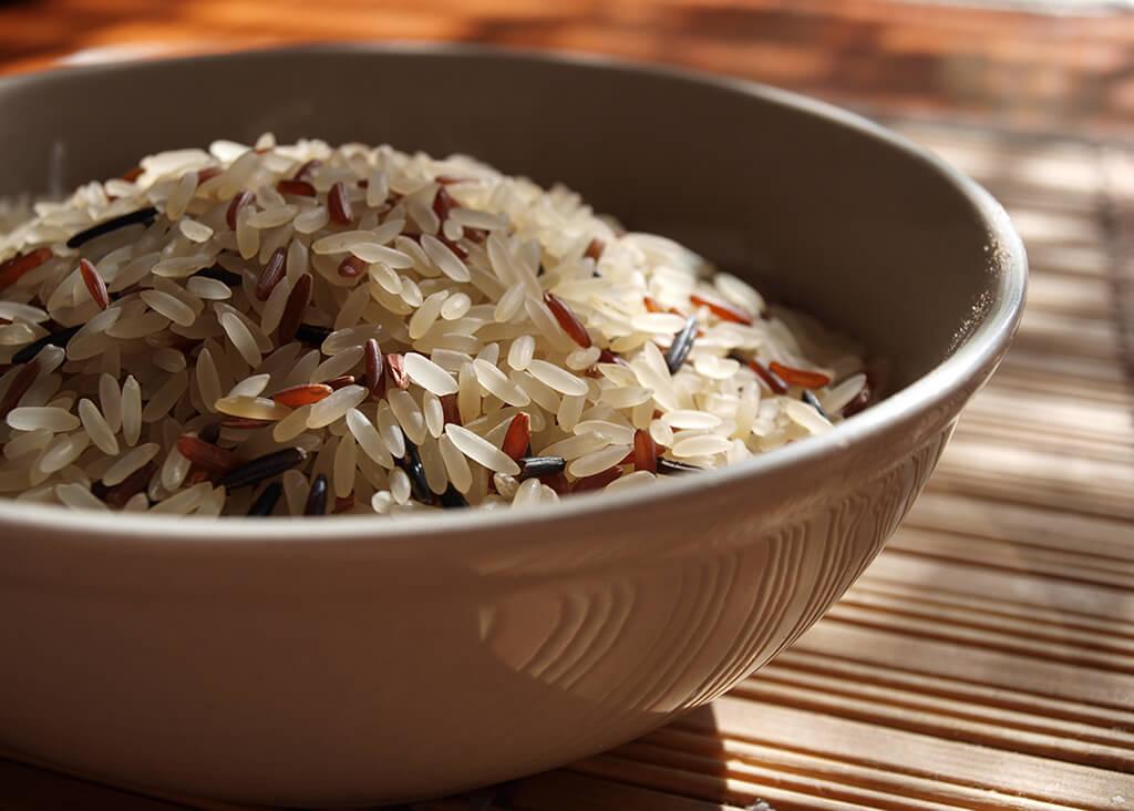 Rýži budete muset prosít