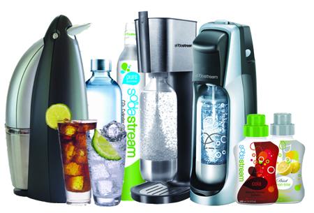 Paleta produktů SodaStream