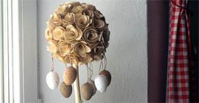 Vyrobte si velikonoční stromeček s vajíčky