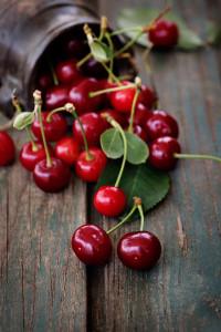 Čerstvé třešně