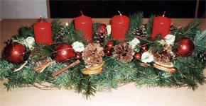 Vyrobte si vlastnoručně vánoční parter