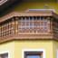 Alpské dřevěné balkony
