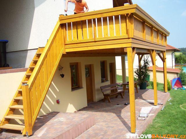 Balkón jako terasa