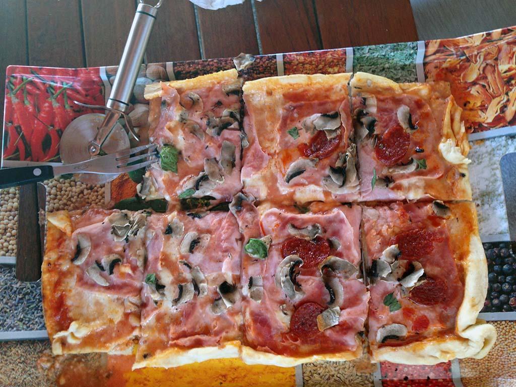 Naše druhá pizza