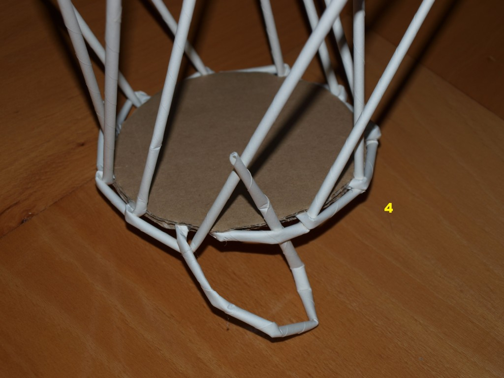 Pletení z papíru č. 4