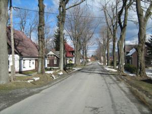Rejvíz vesnice