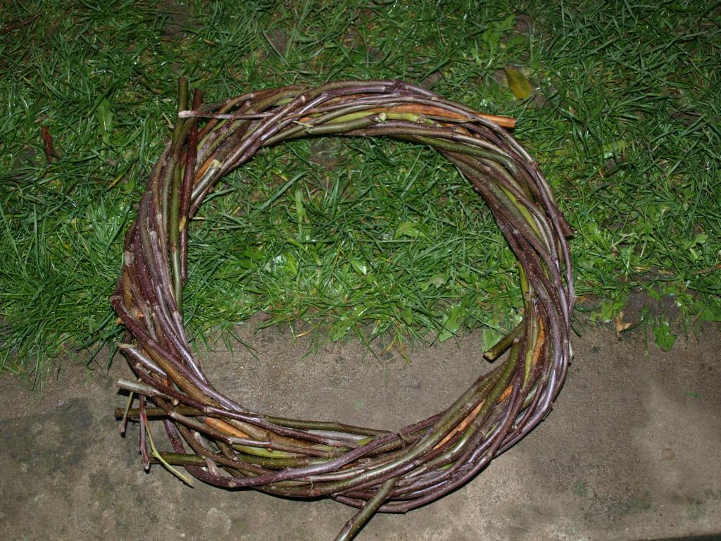 Pletení věnců 2