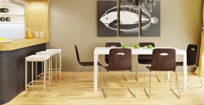Barové židle v kuchyni