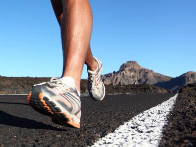 Běhání boty