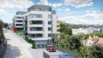 Nová netradiční příležitost k bydlení: Rezidence se klikatí krajinou jako had