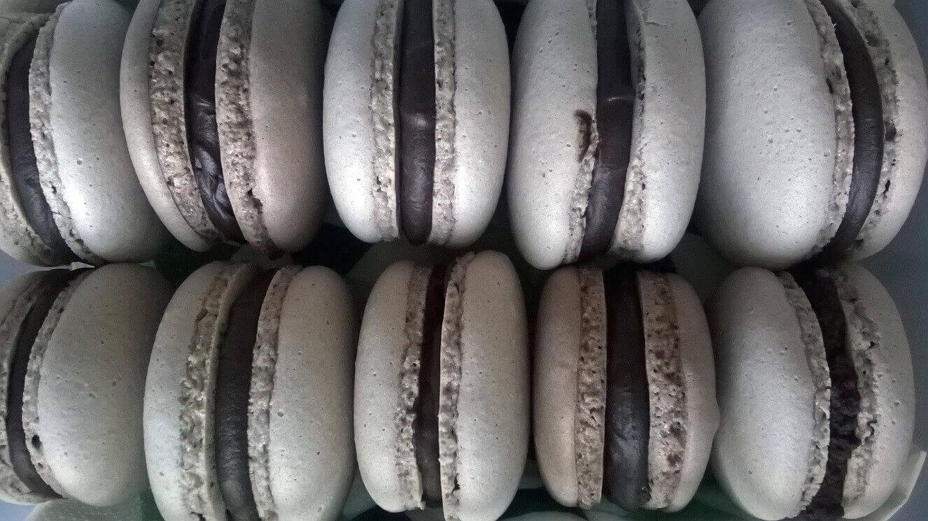 Naše kakaové makronky