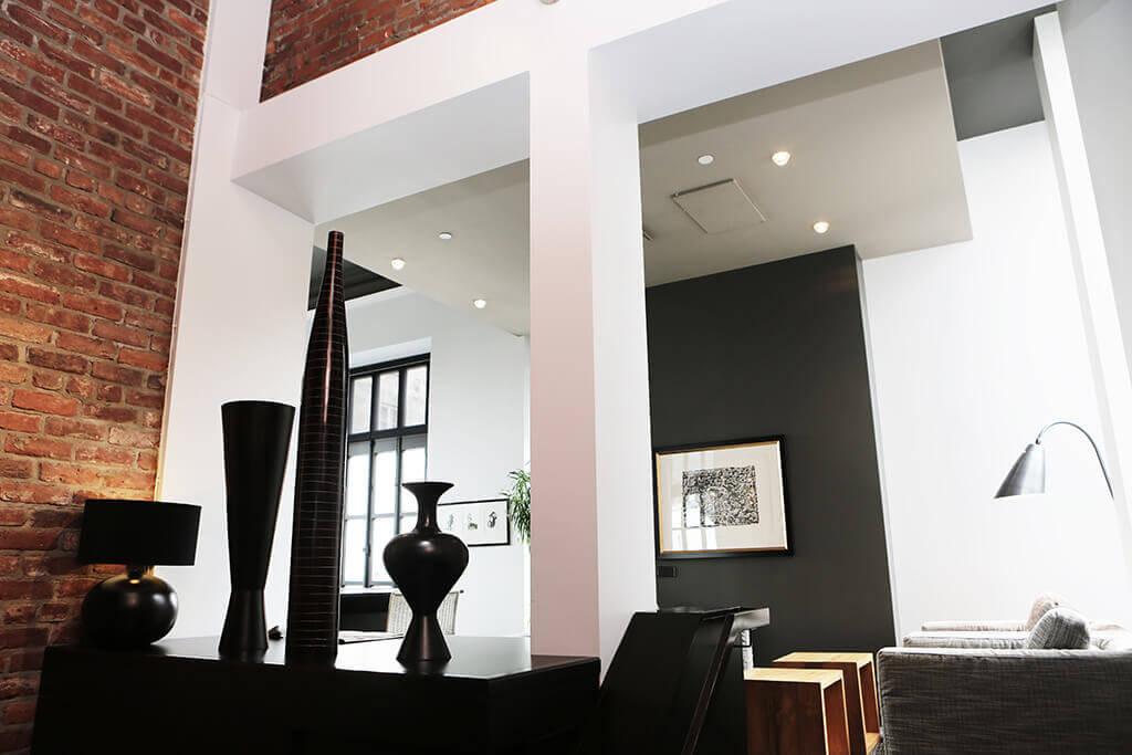 Moderní obývací pooj