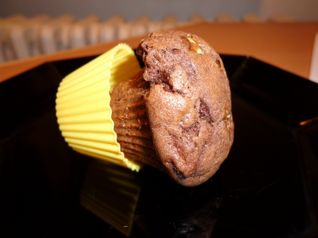 Muffin v silikonové formě