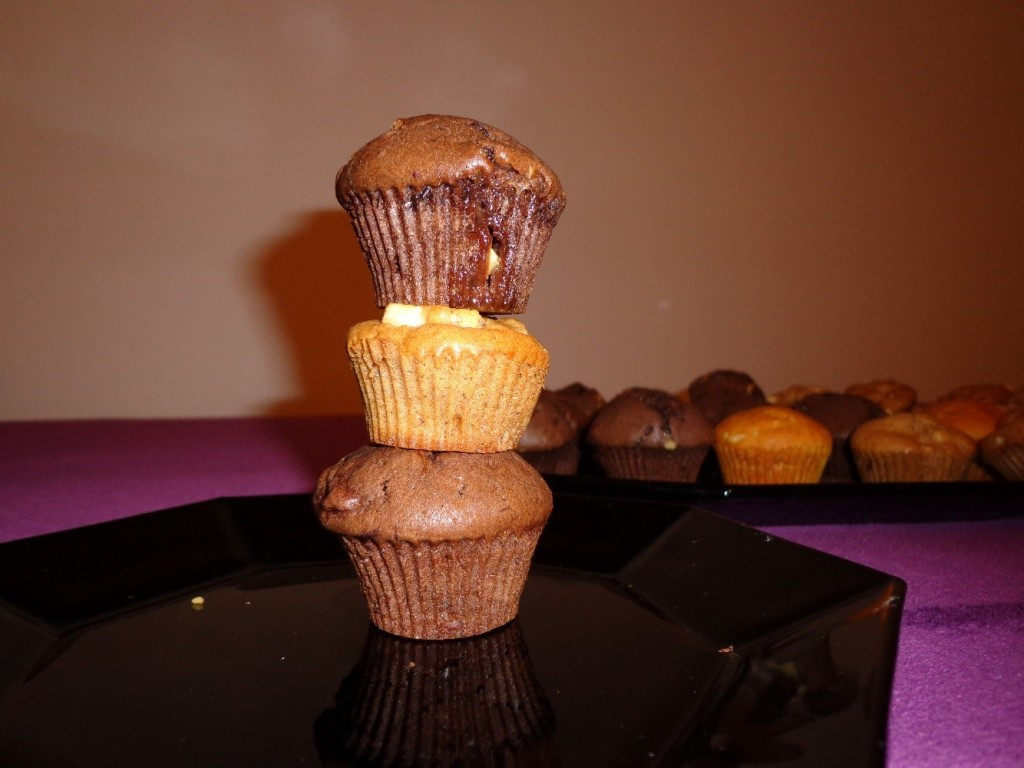 Komín z muffinů