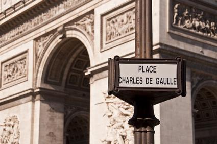 Place Charles de Gaulle - Paříš