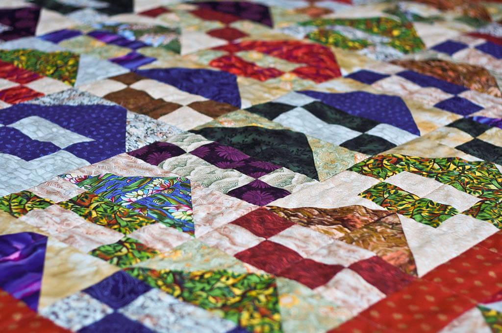 Deka z patchworku