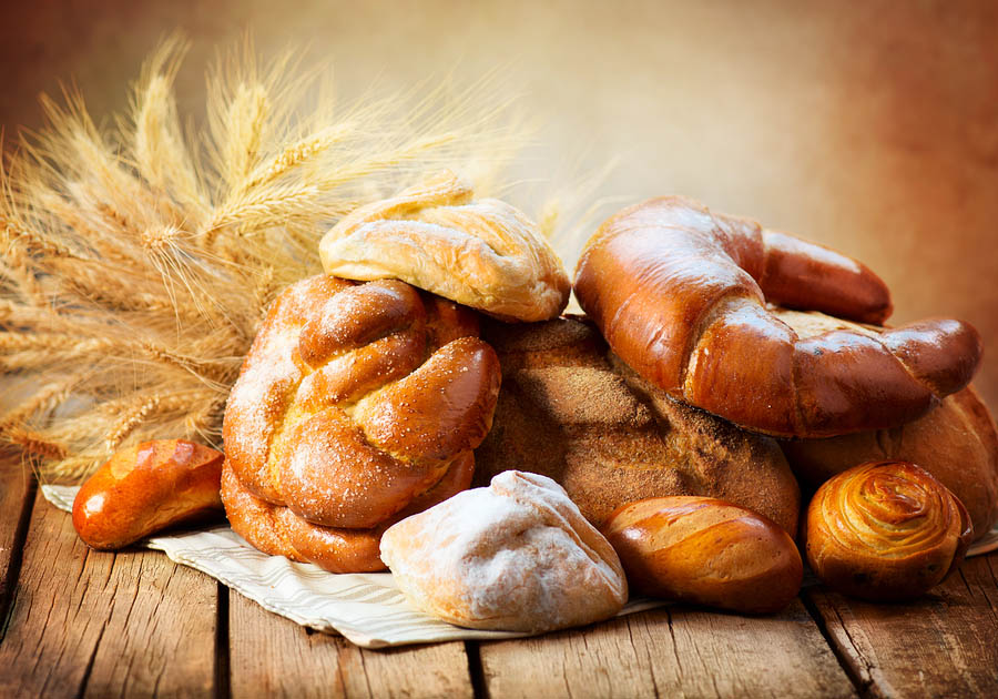 Pečivo z pšeničné mouky