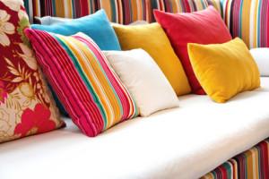 Textilní nábytek - pohovka