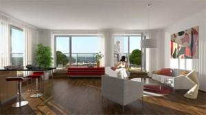 Interiér nového bytu od Sekyra Group