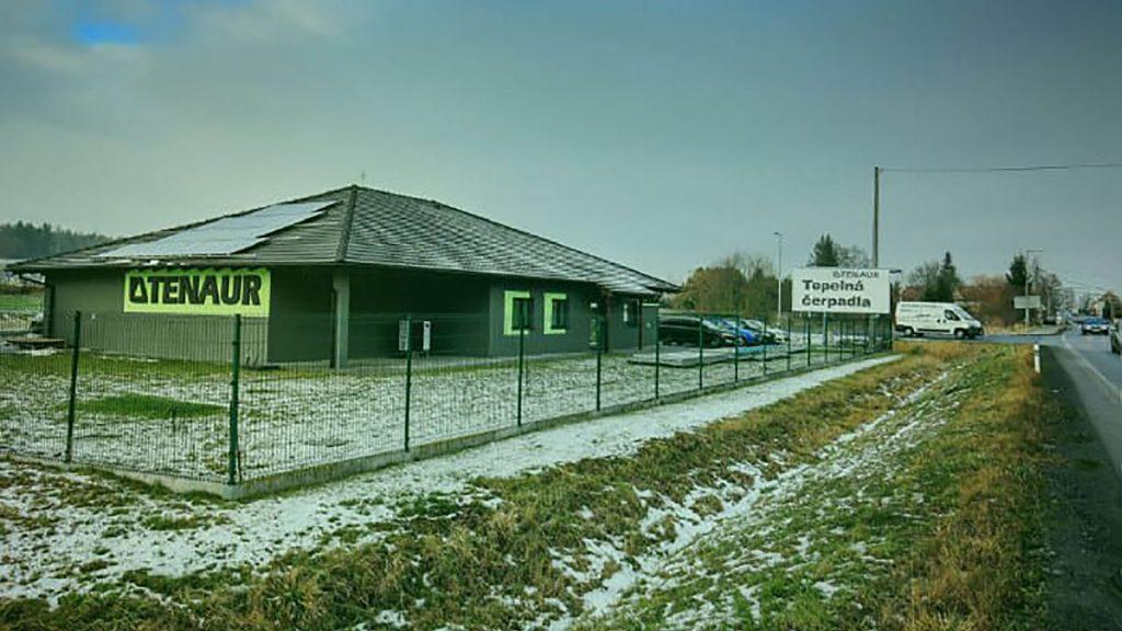 Tenaur nové sídlo