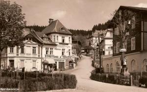 Špindlerův mlýn - historická fotografie