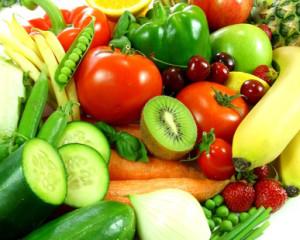 Vláknina - zelenina a ovoce