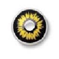 Zabarvená kontaktní čočka